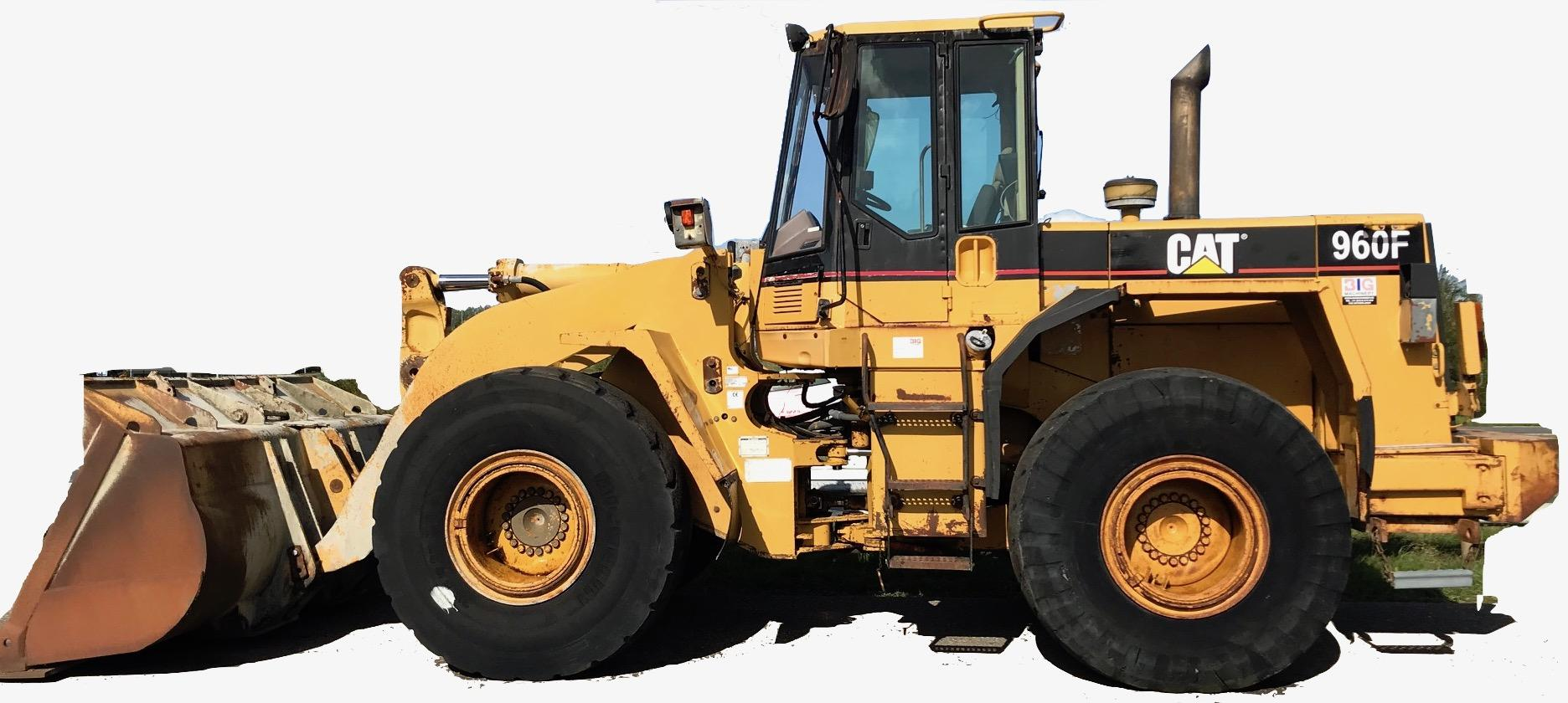 Caterpillar Wheelu00 Loader 960f Workshop Repair  U0026 Service