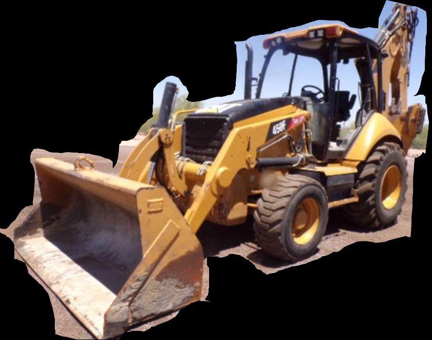 Caterpillar 450f Backhoe Loader Factory Service  U0026 Shop