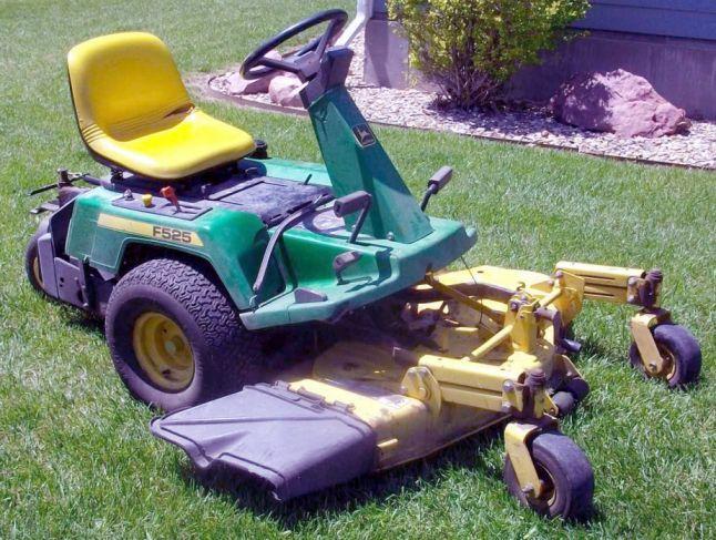 John Deere F510  F525 Residential Front Mower Technical Manual  Tm1475
