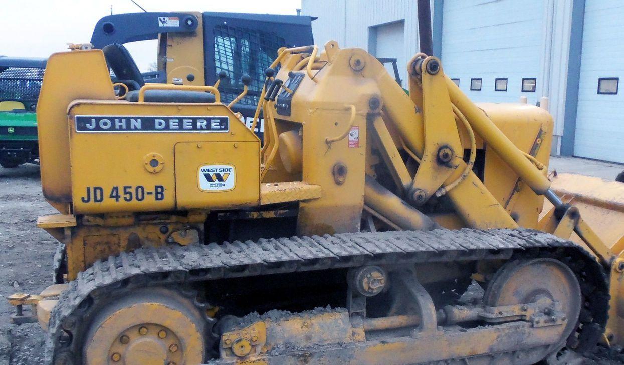 John Deere Jd450b Crawler Tractor  Loader Factory Service