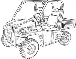Bobcat 3200 Utility Vehicle Factory Service & Shop Manual