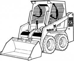 Bobcat 553 Skid-Steer Loader Factory Service & Shop Manual