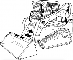 Bobcat T320 Compact Track Loader Factory Service & Shop