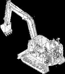 New Holland E80BMSR/E80MSR Hydraulic Excavator Factory