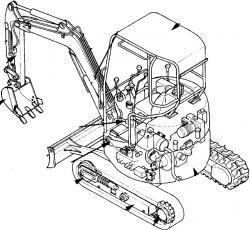 Hitachi EX17u Excavator Factory Service & Shop Manual