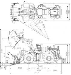 Komatsu WA800, WA900 Wheel Loader Workshop Repair
