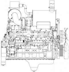 Komatsu 170 Series Engines Factory Service & Shop Manual