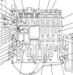Komatsu S4D95LE-3, SAA4D95LE-3, 6D95L-1, S6D95L-1 Diesel