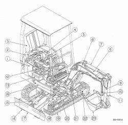Takeuchi Compact Excavator TB007 Factory Service & Shop