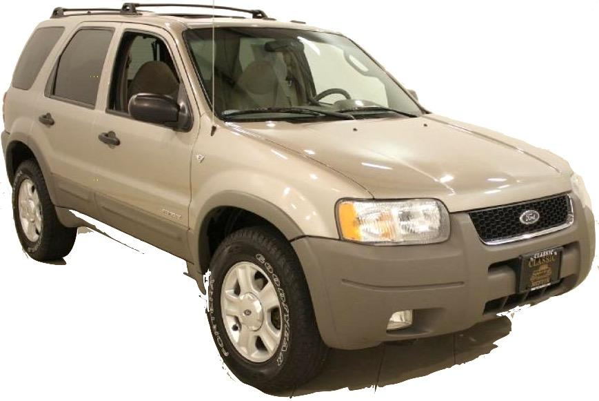 Ford Escape 2001 Factory Service  U0026 Shop Manual