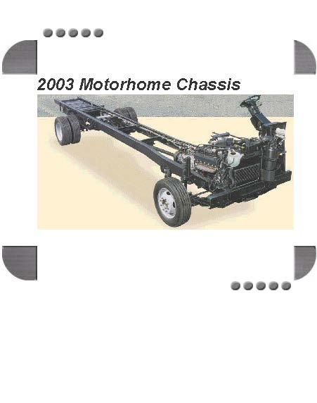 Ford F53 Motorhome Chassis 2003 Factory Service  U0026 Shop Manual