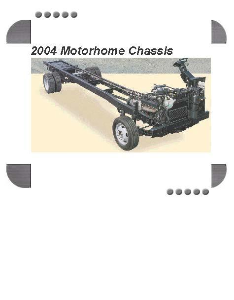 Ford Motorhome Chassis 2004 Factory Service  U0026 Shop Manual