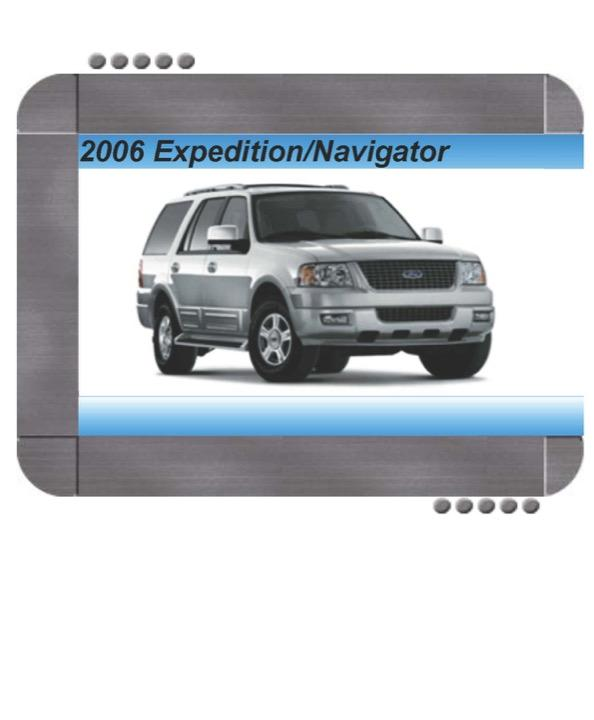 Ford Expedition  Lincoln Navigator 2006 Factory Service