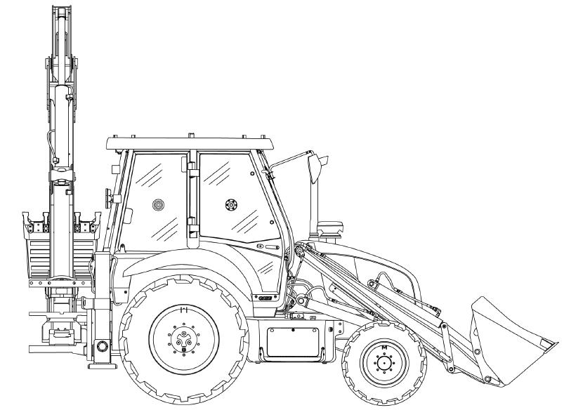 Case Backhoe Loader 570T Factory Service & Shop Manual