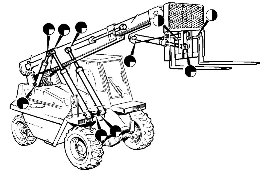 JCB Telescopic Handler 520 Factory Service & Shop Manual