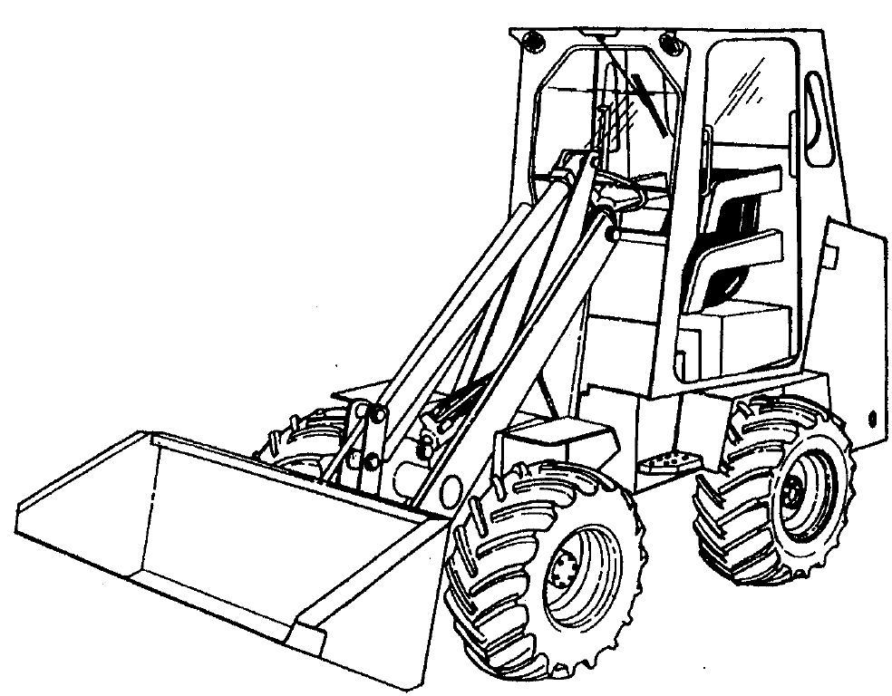 Bobcat 2000, 2000 RTF Loader Factory Service & Shop Manual