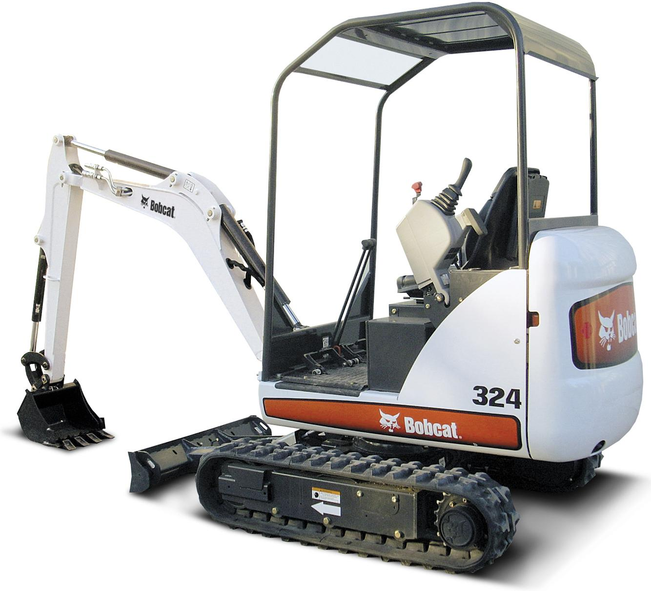 Bobcat 324 Compact Excavator Factory Service  U0026 Shop Manual