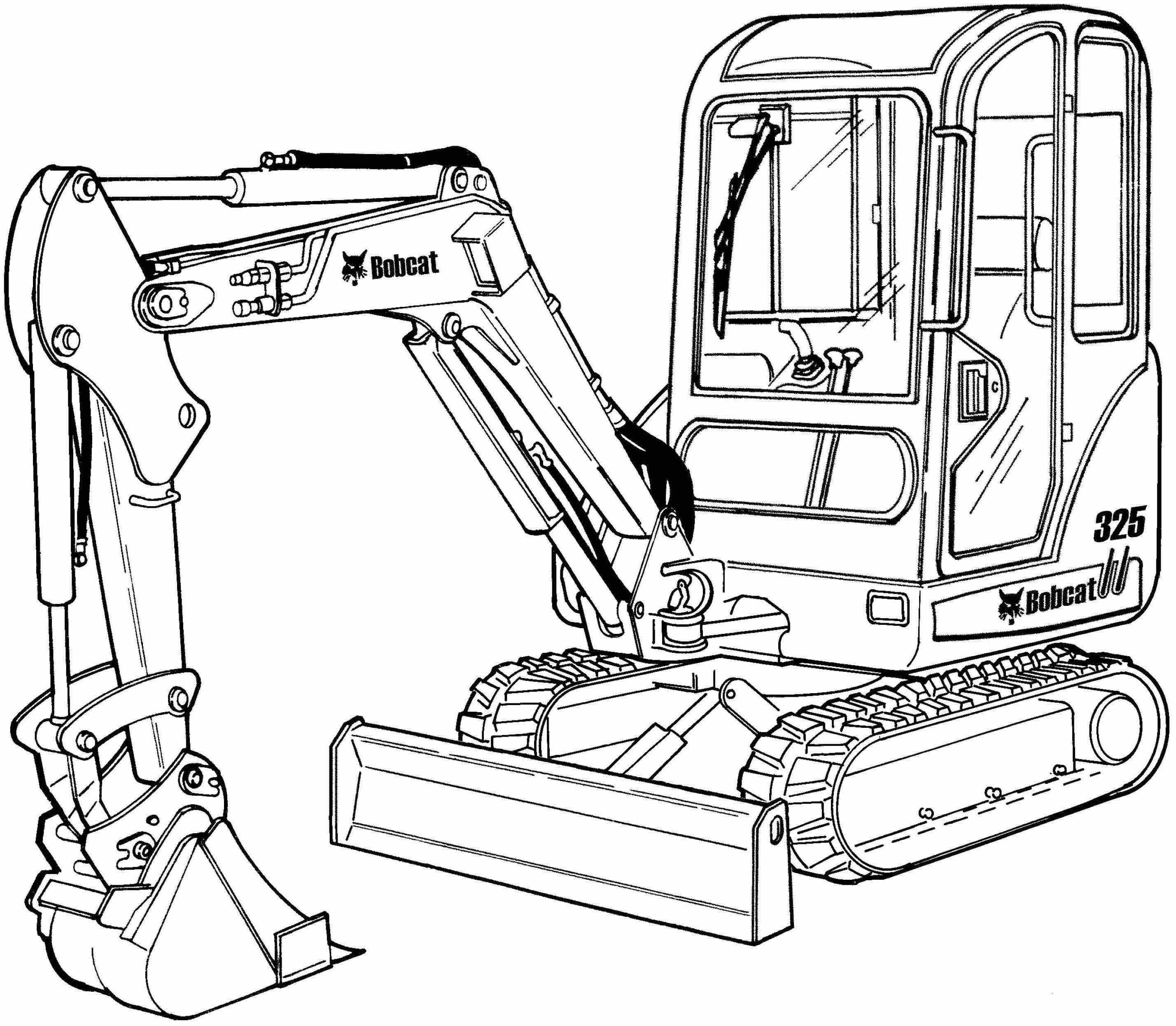 Bobcat 325, 328, X325, X328 Excavator Factory Service