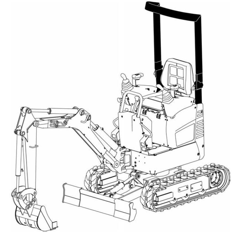 Bobcat 418 Compact Excavator Factory Service & Shop Manual