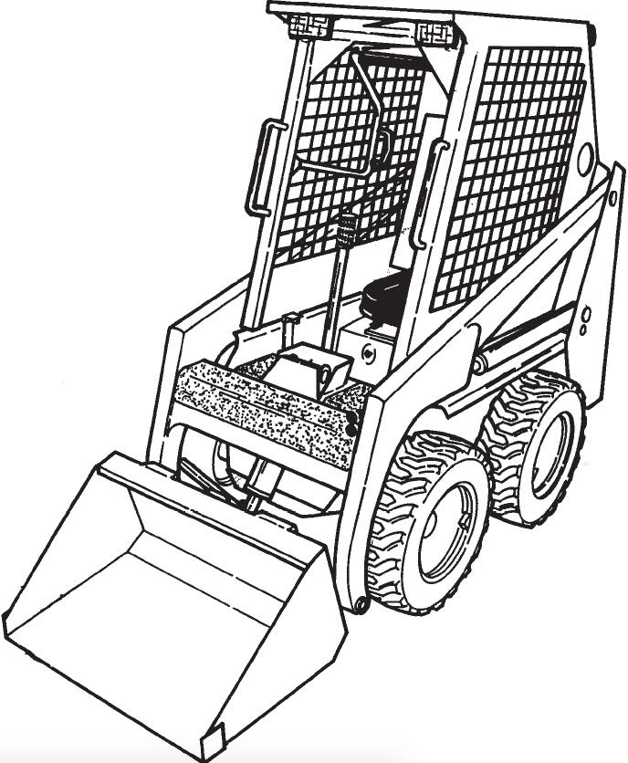 Bobcat 450  453 Loader Factory Service  U0026 Shop Manual