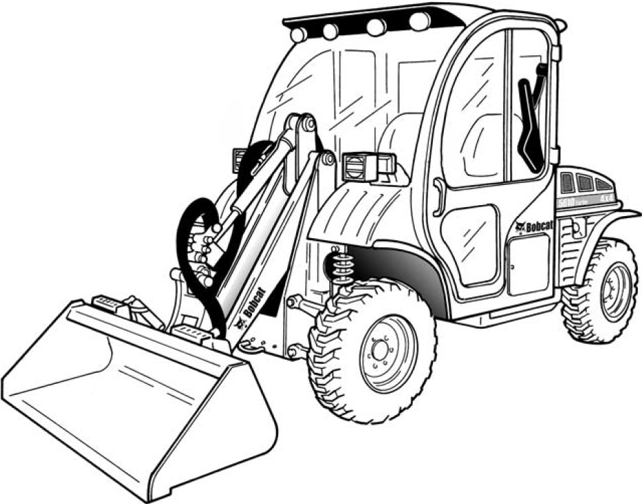 Bobcat Toolcat 5610 Utility Factory Service & Shop Manual