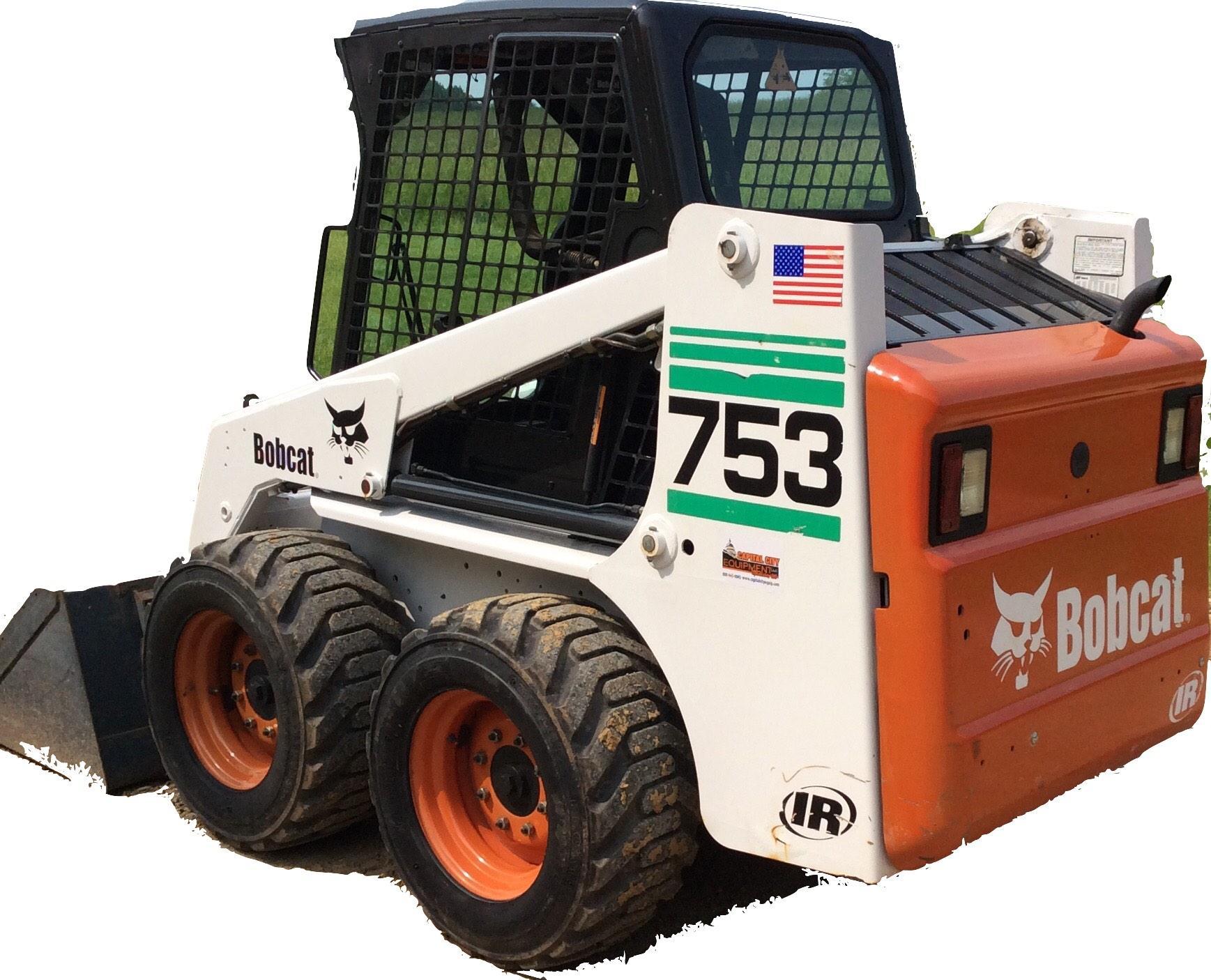 Bobcat 753 Loader Factory Service  U0026 Shop Manual