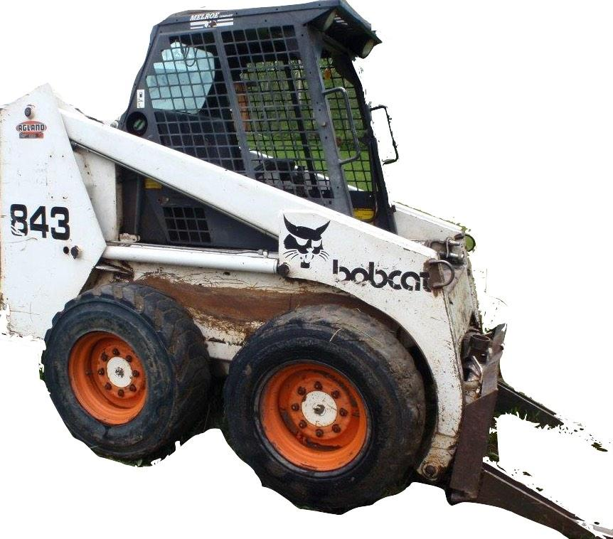 Bobcat 843  843b Loader Factory Service  U0026 Shop Manual