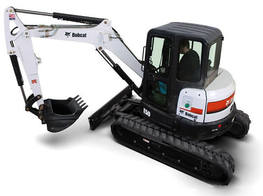 Bobcat E50 Compact Excavator Factory Service  U0026 Shop Manual