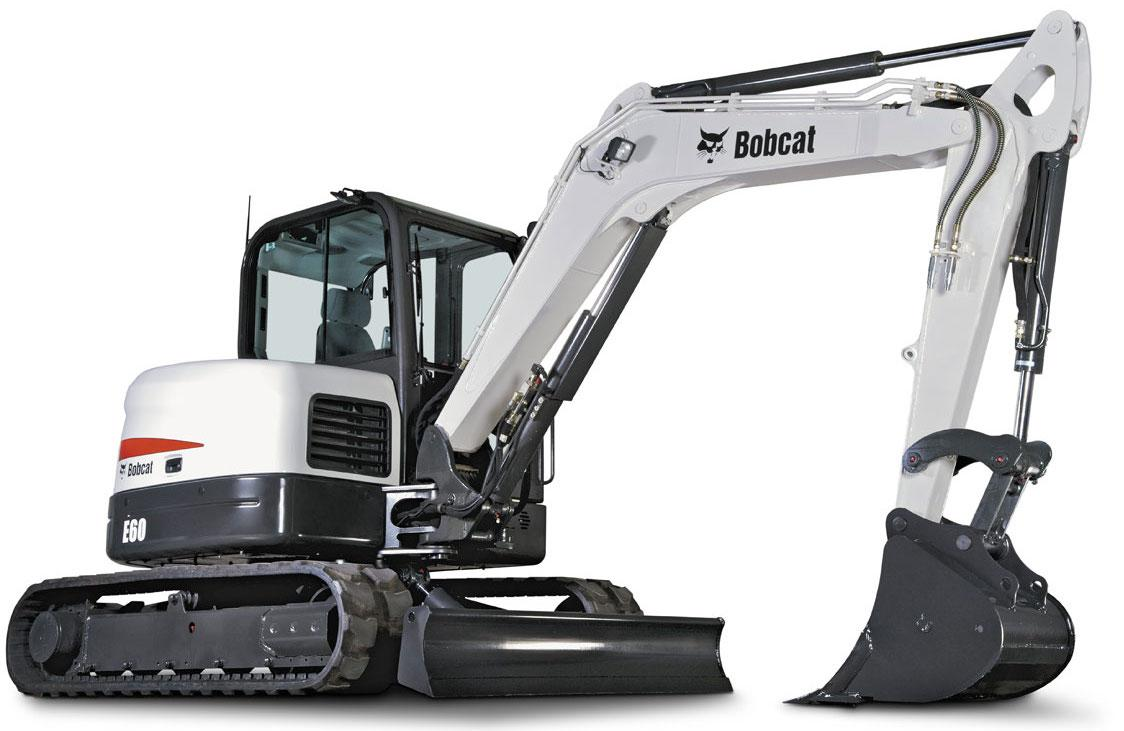 Bobcat E60 Compact Excavator Factory Service  U0026 Shop Manual