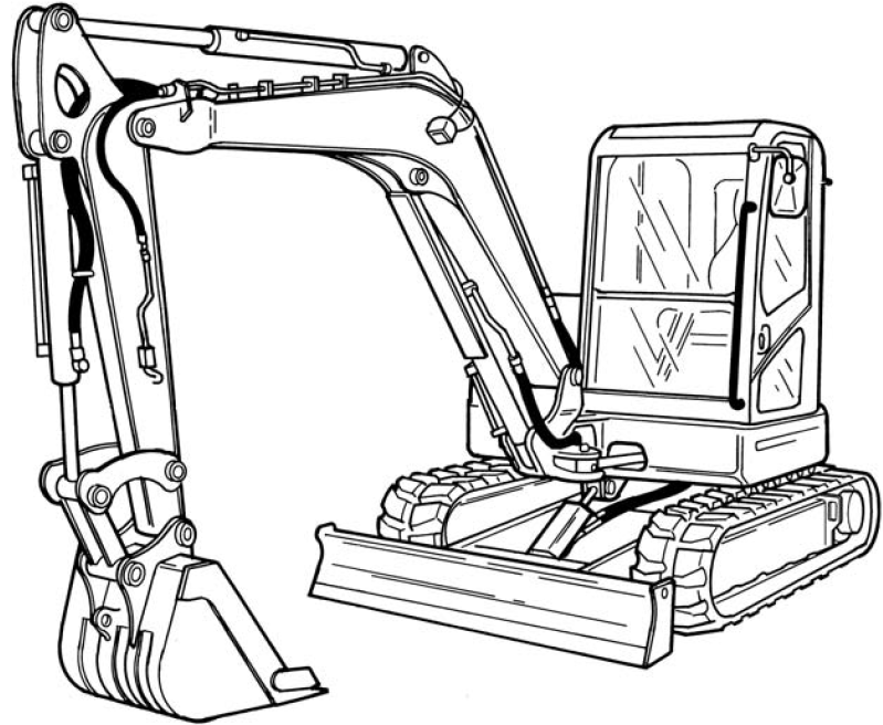 Bobcat E80 Compact Excavator Factory Service  U0026 Shop Manual
