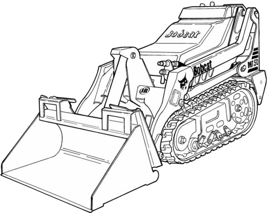 Bobcat Mt50 Mini Track Loader Factory Service  U0026 Shop