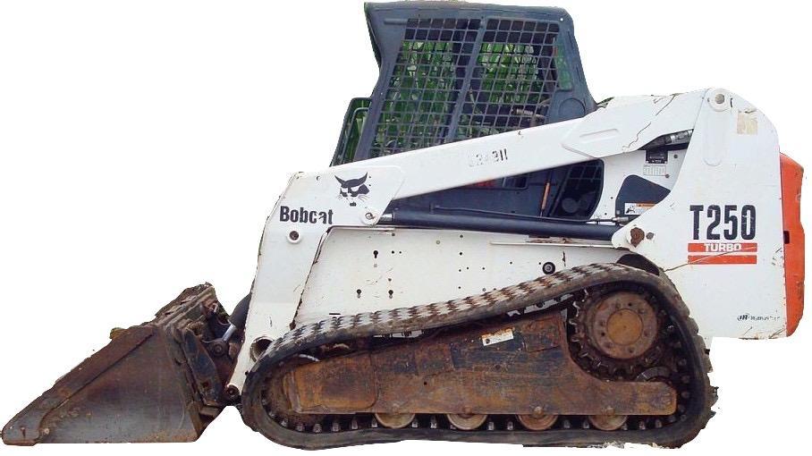 Bobcat T250 Compact Track Loader Factory Service  U0026 Shop
