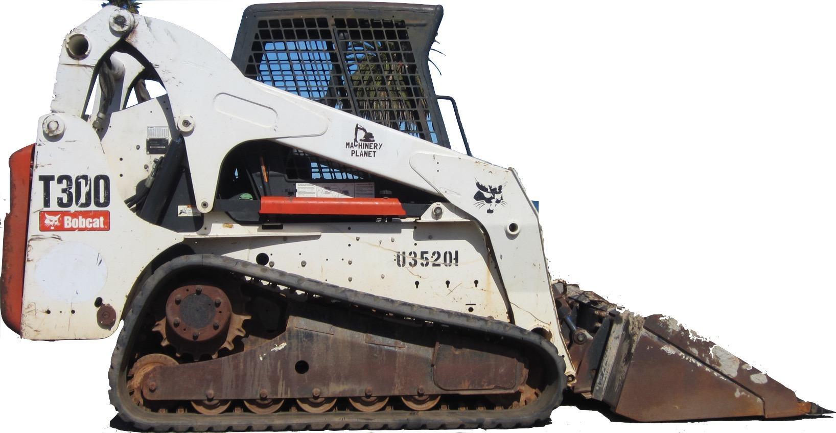 Bobcat T300 Compact Track Loader Factory Service  U0026 Shop