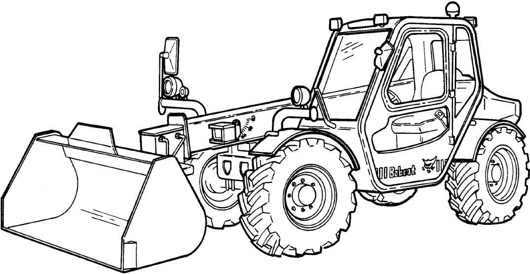 Bobcat V518, V623, V723 Telescopic Tool Carrier Factory