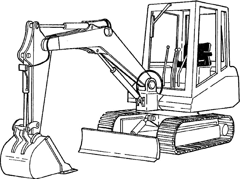 Bobcat X100 Excavator Factory Service & Shop Manual