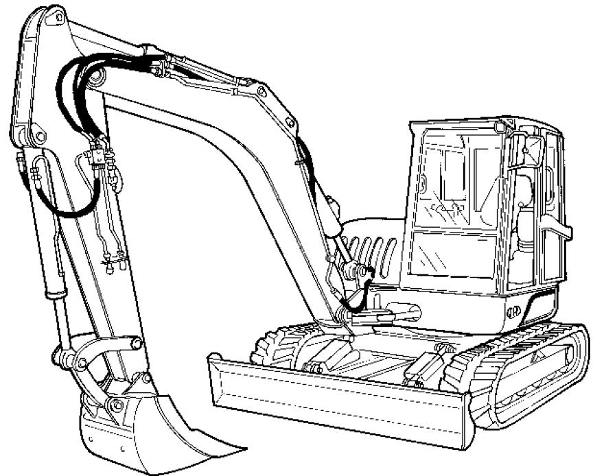 Bobcat / Ingersoll-Rand ZX75, ZX125 Excavator Factory
