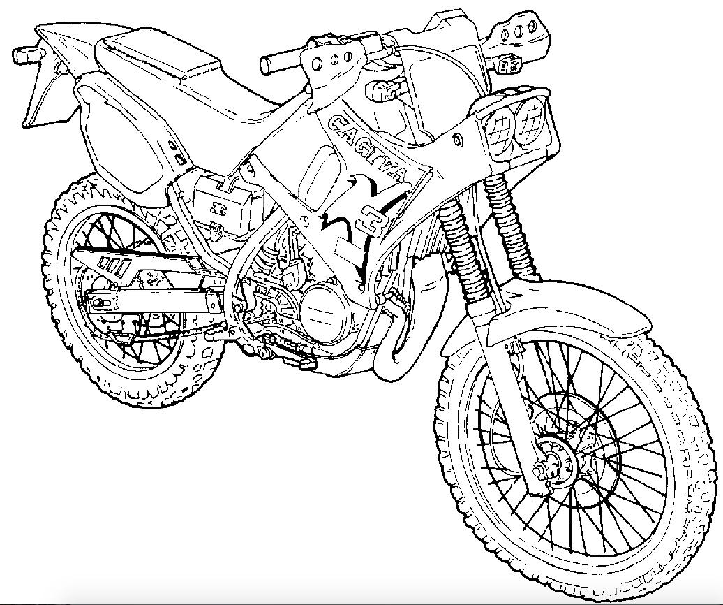 Cagiva K3 Motorcycles Factory Service & Shop Manual