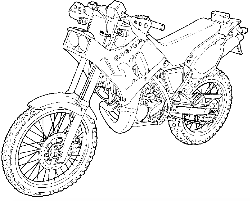 Cagiva K7 Motorcycle Factory Service  U0026 Shop Manual