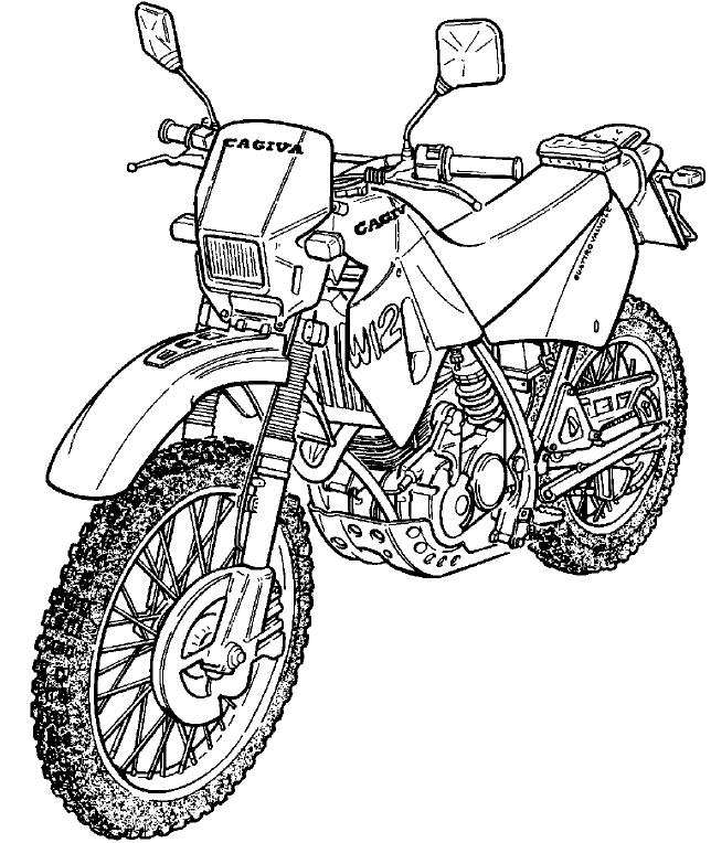 Cagiva W12 Motorcycle Factory Service & Shop Manual