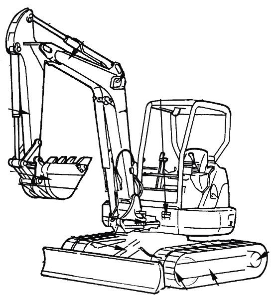 Hitachi EX27u, EX35u Factory Service & Shop Manual