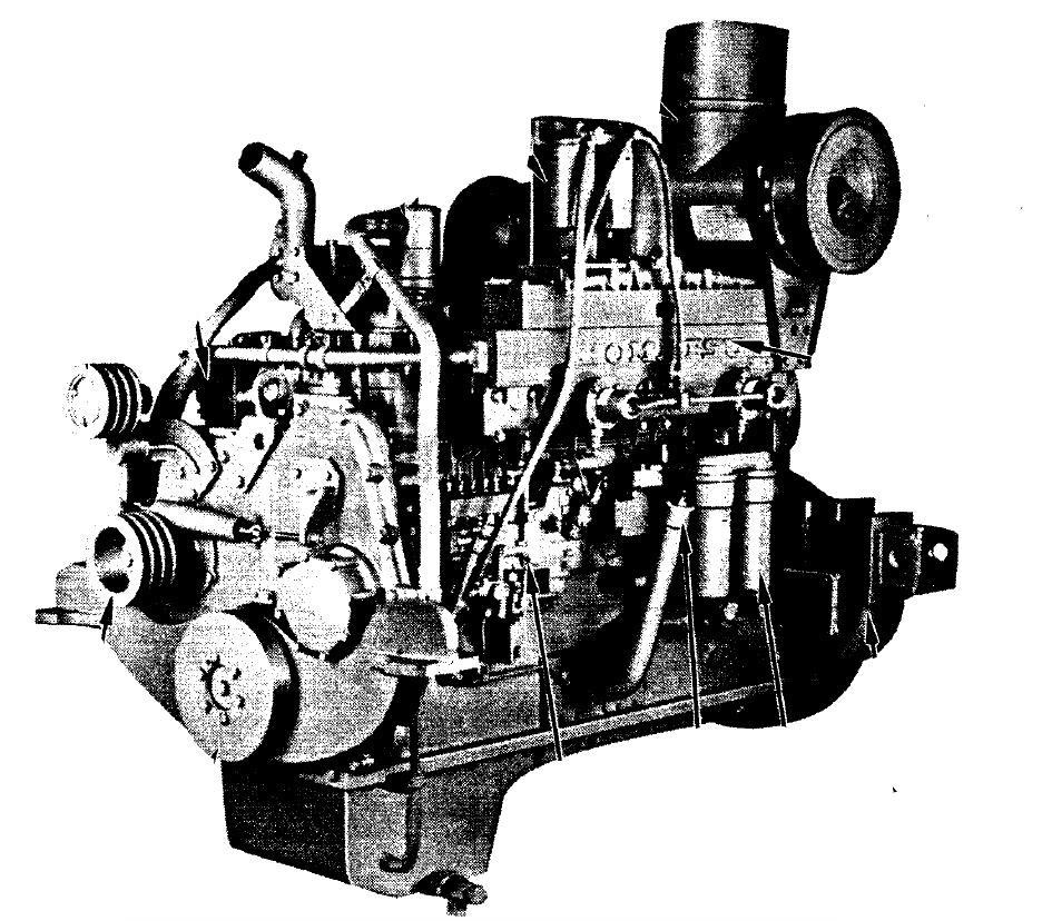 Komatsu 155 Series Diesel Engine Factory Service  U0026 Shop