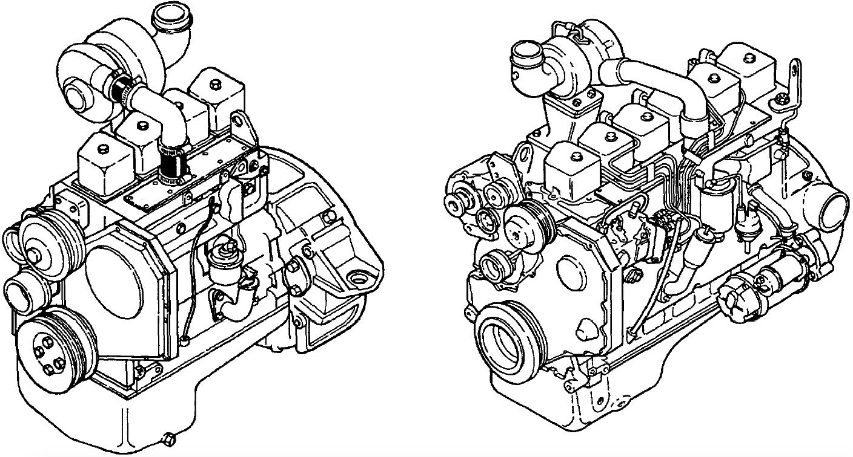 Komatsu KDC 410 & KDC 610 & KDC 614 Series Engine Factory