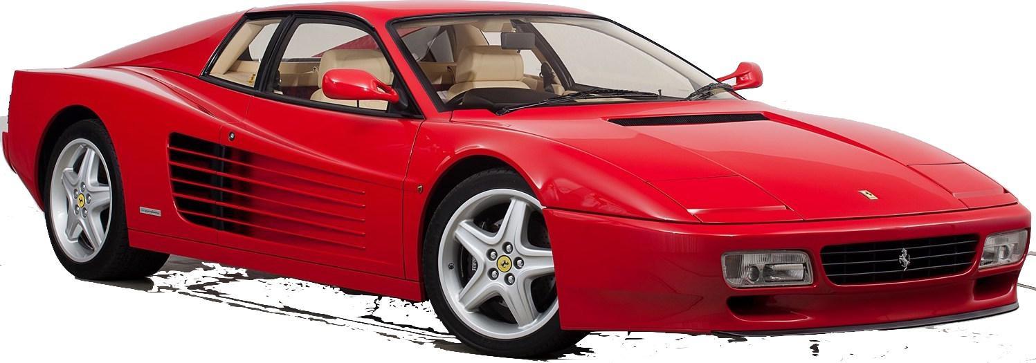 Ferrari Testarossa  512 Tr 1984