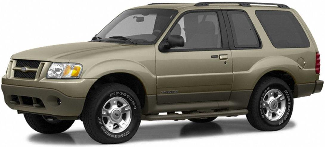 Ford Explorer Sport  Explorer Sport Trac 2002 Factory Service  U0026 Shop Manual