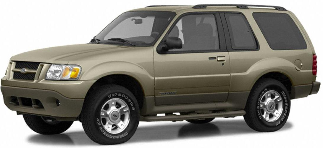 Ford Explorer  Mercury Mountaineer 2002 Factory Service