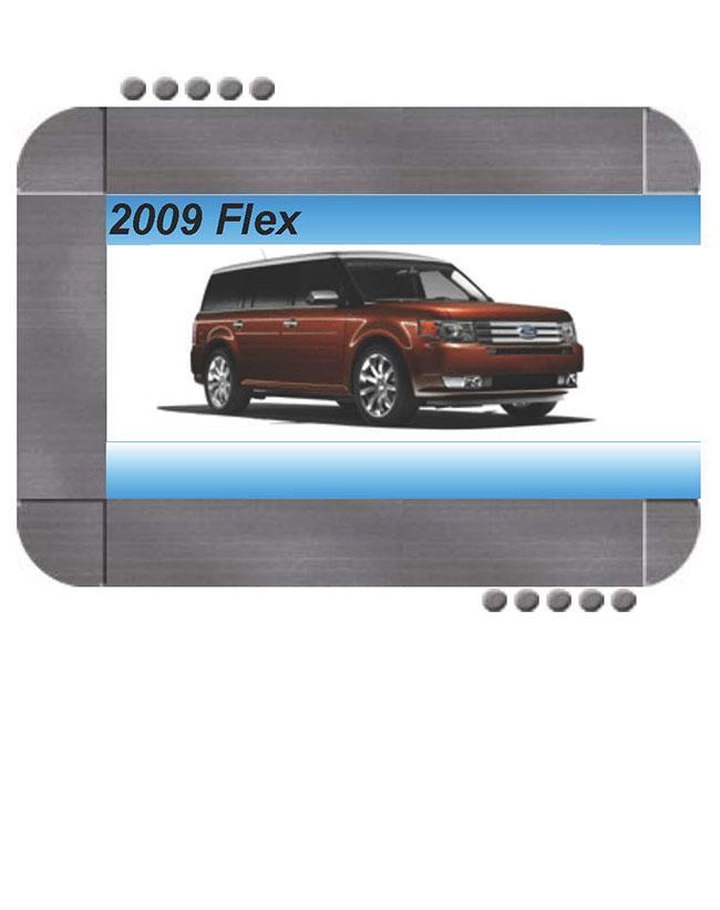 Ford Flex 2009 Factory Service  U0026 Shop Manual