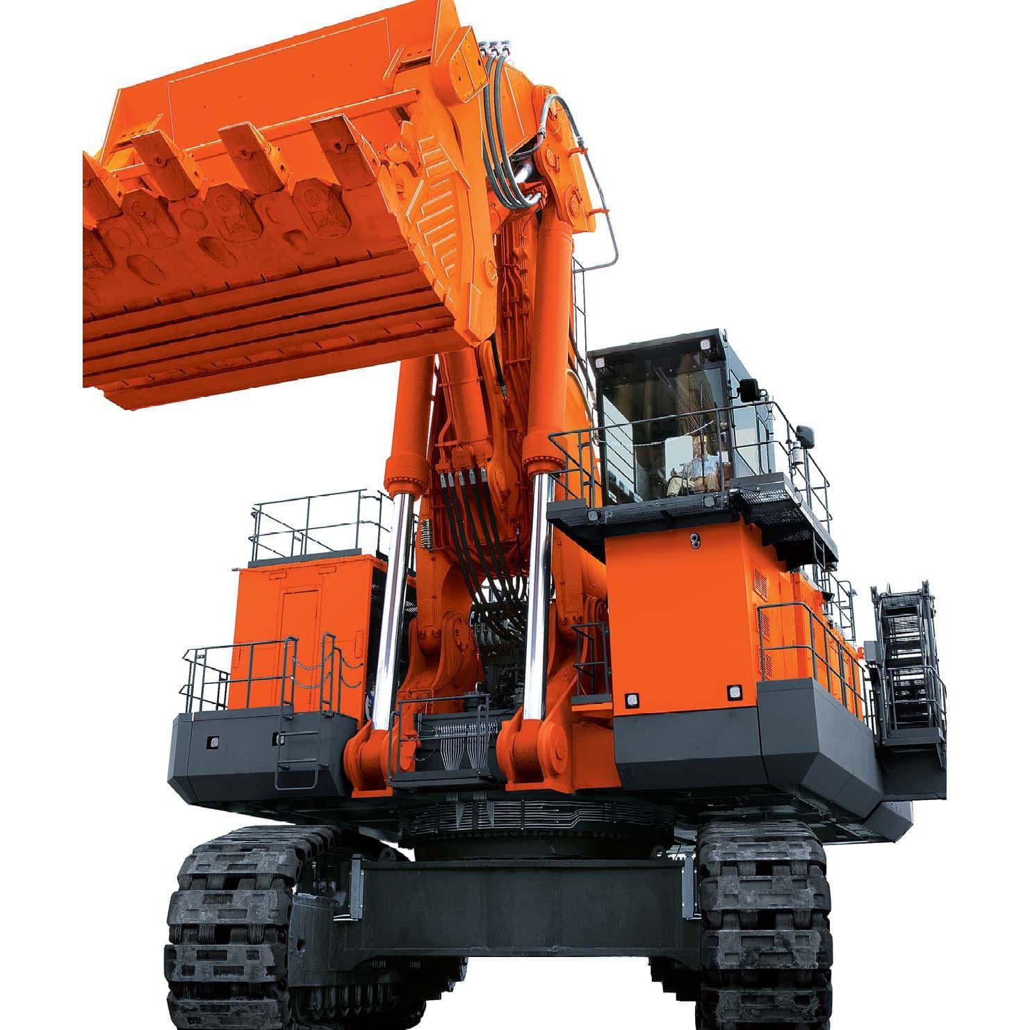 Hitachi Ex5500 Hydraulic Excavator Factory Service  U0026 Shop