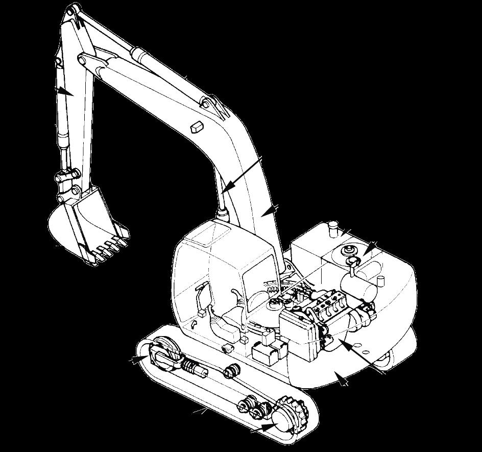 Hitachi Excavator EX80-5 Factory Service & Shop Manual