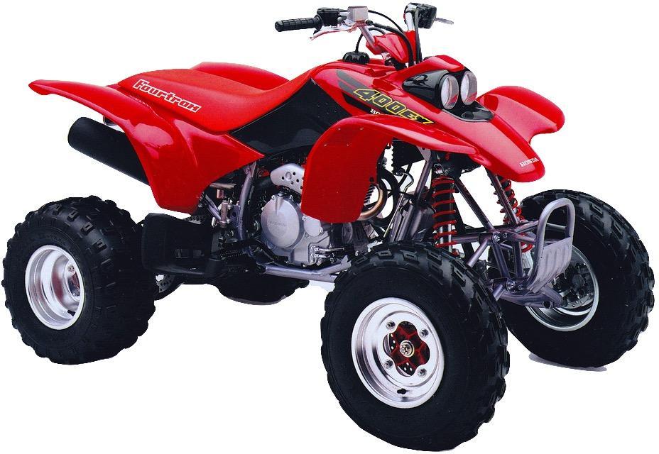 Honda Trx300  350  400  420  450 1986