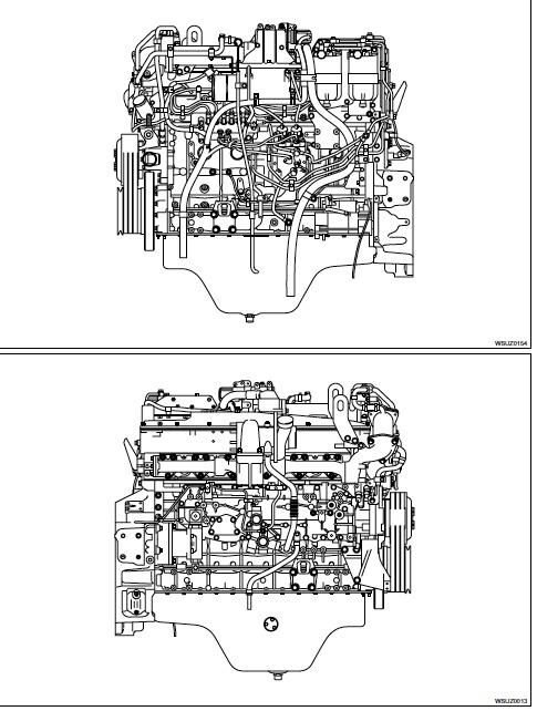 Isuzu AH-6UZ1 Model Industrial Diesel Engine Factory